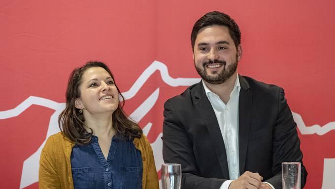 Mattea Meyer und Cédric Wermuth werden als Parteipräsidenten mit je 40'000 Franken jährlich entschädigt.