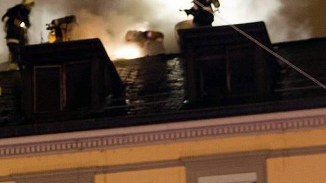 Feuerwehr bringt Brand unter Kontrolle