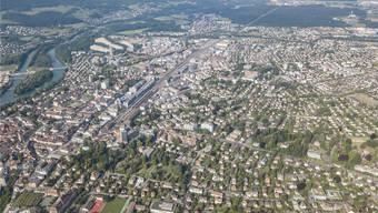 Der Stadtrat möchte die Gartenstadt (unten und Bildmitte rechts) möglichst erhalten.