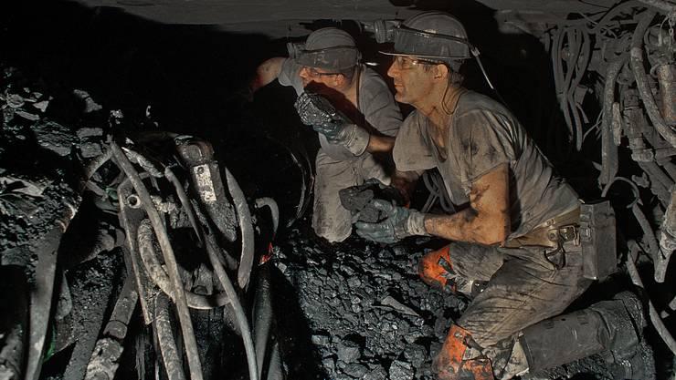 Viel Dunkelheit und Russ: Der Job unter Tage ist heute nicht mehr so gefragt wie im 19. Jahrhundert.