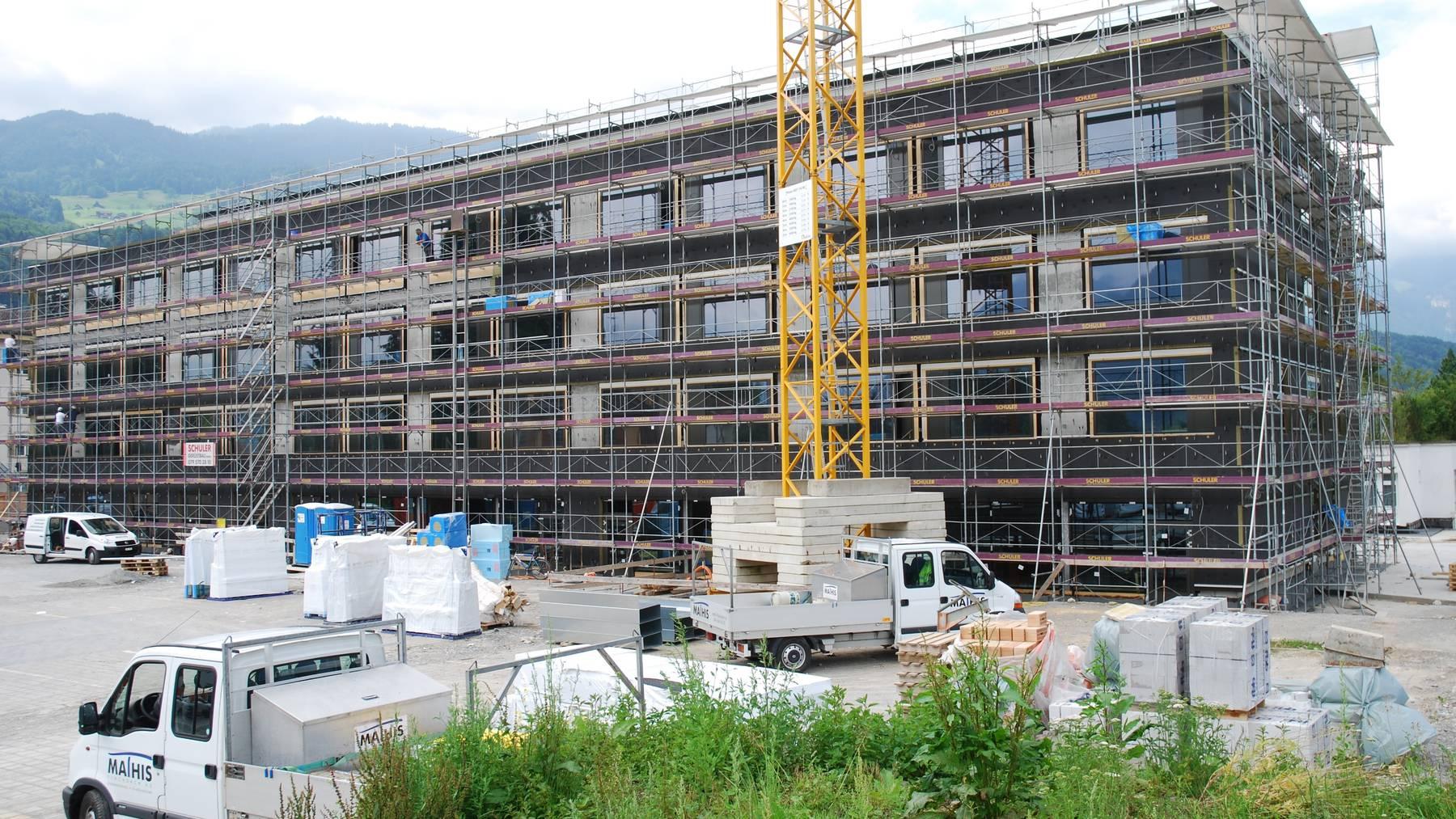 Neuer Bettentrakt Kantonsspital Obwalden fertig
