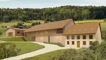 Gegen die Fristverlängerung für das geplante Pferdezentrum auf dem Bücklihof (im Bild: Visualsierung) ist das Referednum ergriffen worden.