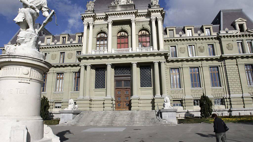 Vor dem Strafgericht in Lausanne hat am Montag der Prozess um einen Millionenraub bei einer Sicherheitsfirma in Bussigny VD begonnen. (Archivbild)