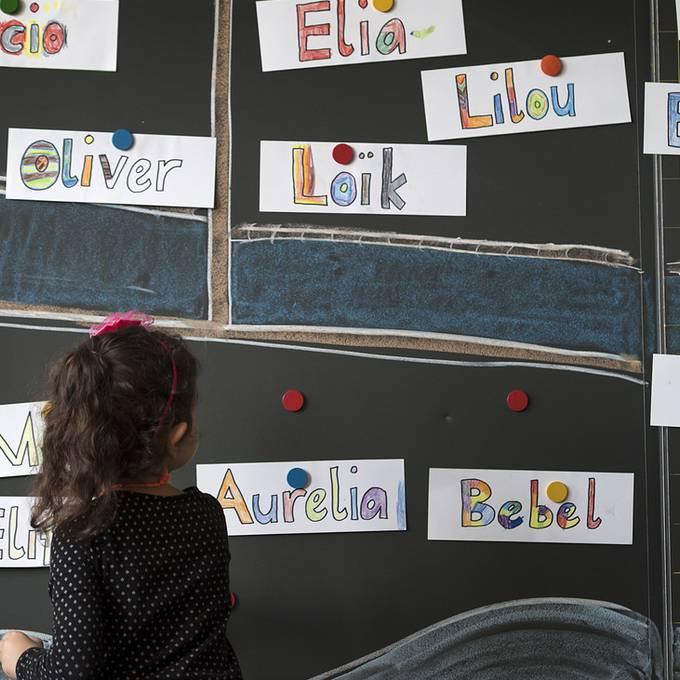 Erster Schul- oder Chindsgitag für 25'000 Kinder