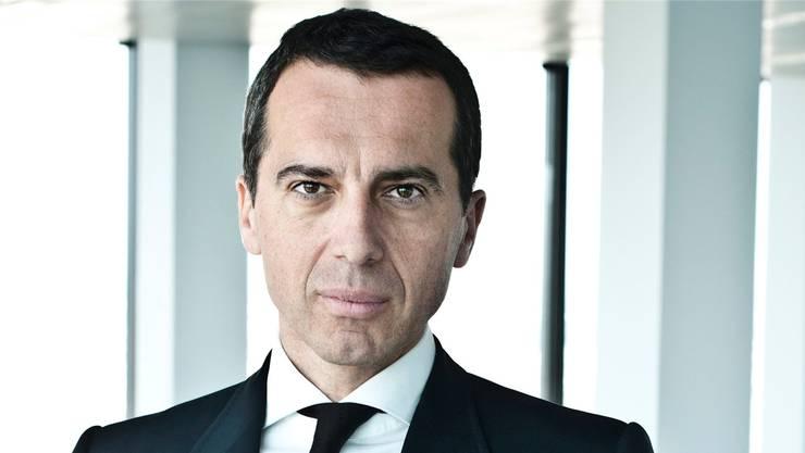 Markante Züge, kein Gramm Fett: Christian Kern ist der Nachfolger von Werner Faymann im Amt des österreichischen Bundeskanzlers. keystone