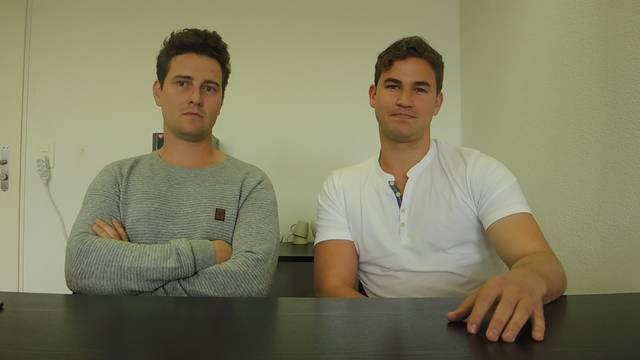 David Hess und Simon Knoth von HK Learning verraten was es heisst eine eigene Firma zu haben