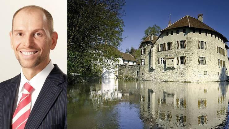 Jörn Wagenbach wird neuer Herr über die vier Aargauer Schlösser (im Bild Wasserschloss Hallwyl).