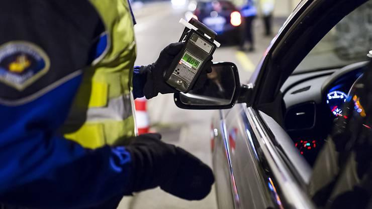 Die Polizei stoppte einen alkoholisierten Lenker eines Sattelmotofahrzeugs bei Birrhof.
