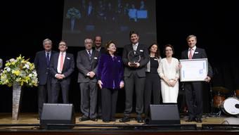 Verleihung des Solothurner Unternehmerpreises 2016