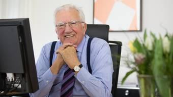 Der verstorbene Roche-Ehrenpräsident Fitz Gerber in einer Aufnahme von 2013.