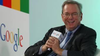 Google-Verwaltungsratspräsident Eric Schmidt (Archiv)