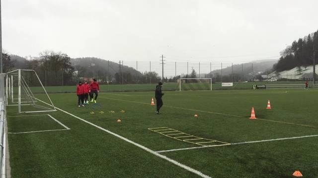 Der FC Aarau in der Vorbereitung auf die Rückrunde