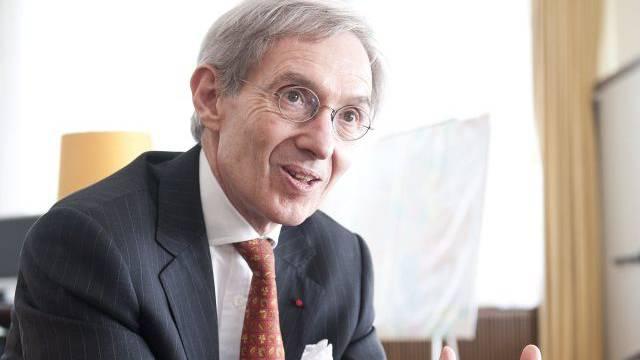 Der französische Botschafter Michel Duclos. Foto: Manuel Zingg