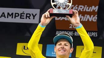 Bereit für die Tour de France: Der Däne Jakob Fuglsang gewann in Champéry zum zweiten Mal nach 2017 die Gesamtwertung am Critérium du Dauphiné