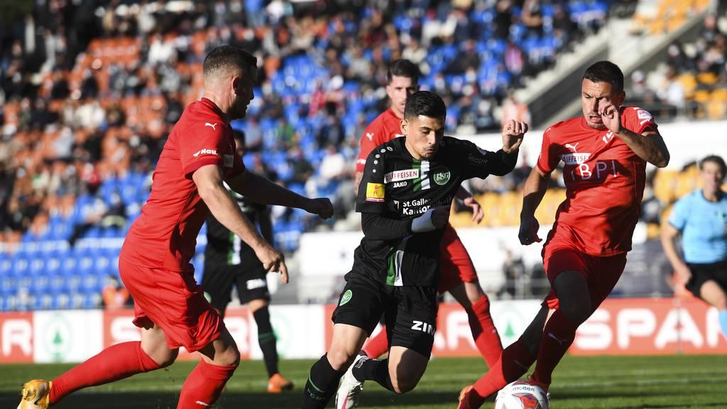 FCSG gewinnt auswärts 1:0 gegen Aufsteiger Vaduz