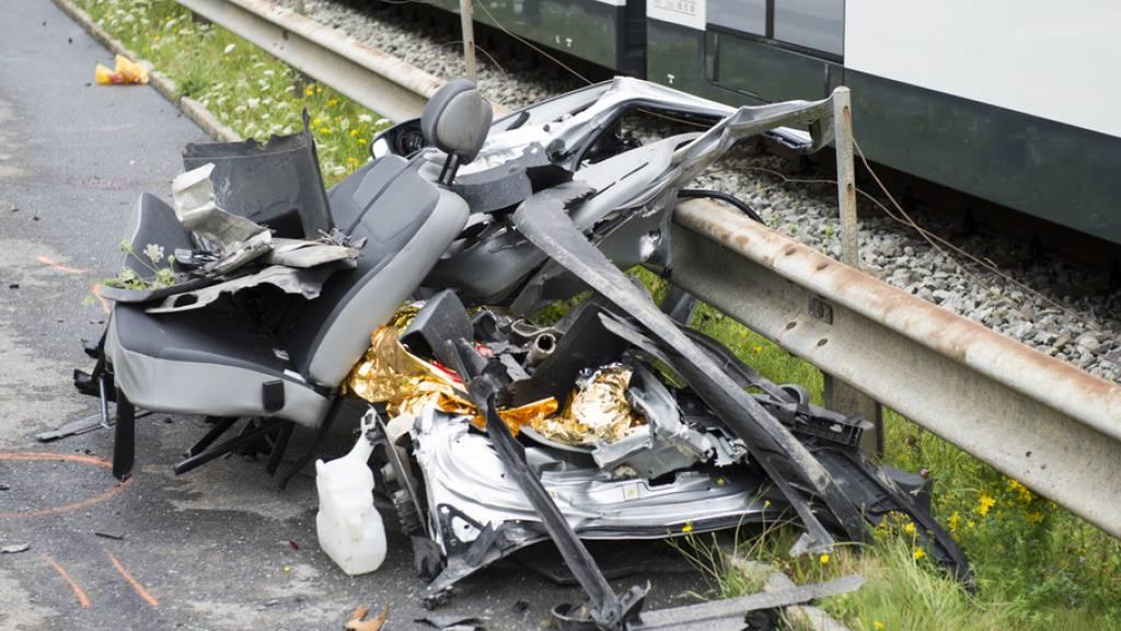 Letztes Jahr 17 Tote bei Bahnunfällen - 41 Prozent weniger als 2000