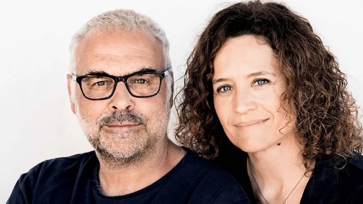 Promi-Paar spricht Klartext: Regula Grauwiller und Jophi Ries. (zvg)