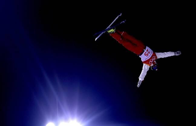 Solche Sprünge machen Ski Aerials zu einer Sportart mit grossem Spektakel.