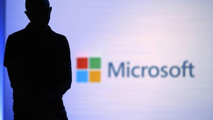 Microsoft-CEO Satya Nadella während einer Präsentation in Seattle im Mai. (Archivbild)