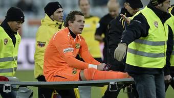 Verletzungspech für YB-Goalie Marco Wölfli.
