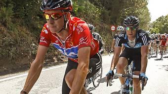 Bradley Wiggins trägt weiterhin das Leadertrikot an der Vuelta.