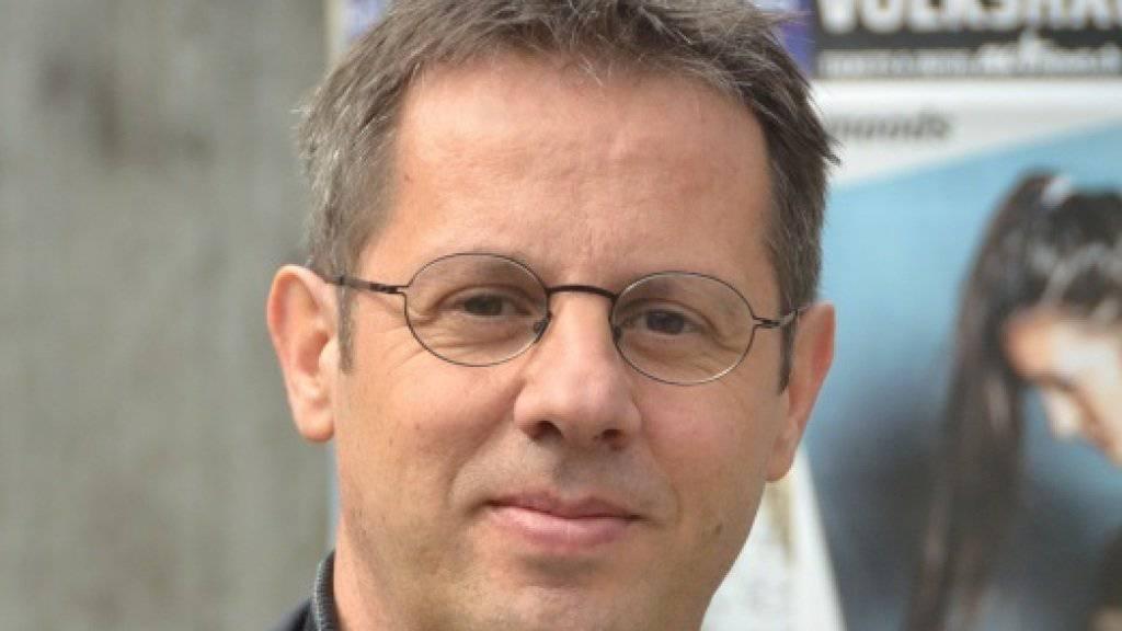 Robert Schmuki erhält für sein Engagement im Bereich Jugendarbeit den hochdotierten Preis der Landis & Gyr Stiftung (Handout).