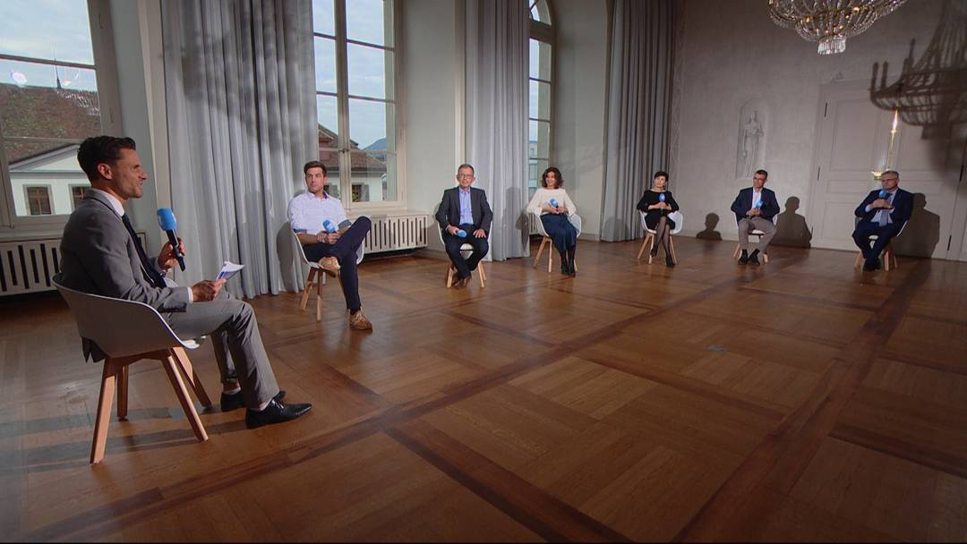 Parteipräsidenten-Talk