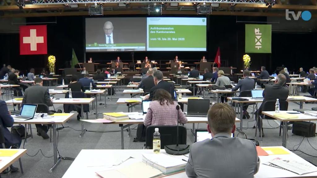 St.Galler Kantonsrat: So debattiert es sich in der Olma-Halle