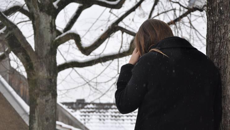 Nicht nur Erwachsene können an einer Depression leiden. (Symbolbild)