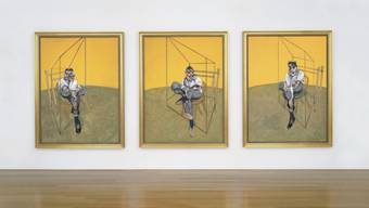 "Francis Bacon's ""Three Studies of Lucian Freud"""