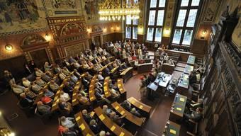 Im Grossen Rat von Basel-Stadt sind 33 von 100 Sitzen von Frauen besetzt. Im Regierungsrat sind es zwei von sieben. (Archivbild)