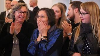 Damals hatte sie es fast selbst geschafft: Heidi Mück (Mitte) bei ihrer Kandidatur für die Basler Regierung. Jetzt will ihre Partei eine Co-Regierungskandidatur lancieren.