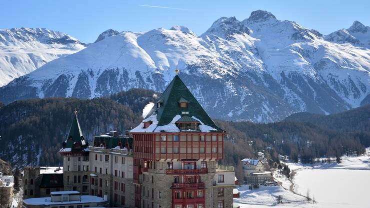 Das Palace Hotel in St. Moritz