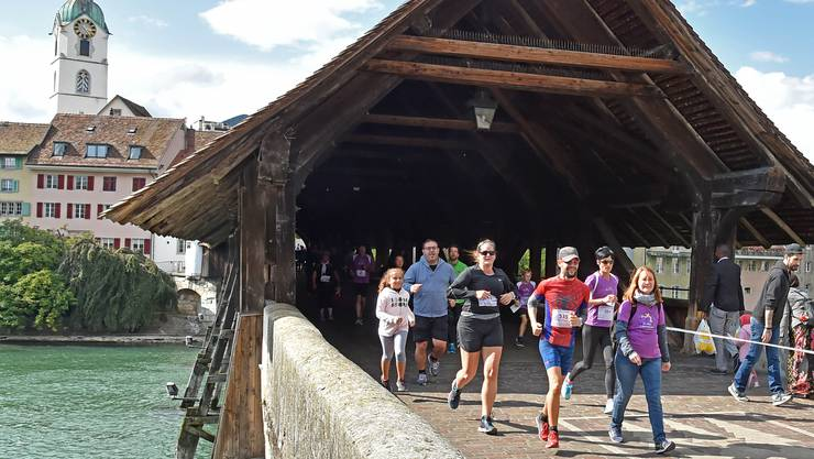 Die Laufstrecke führt dieses Jahr durch den Hinteren Steinacker.
