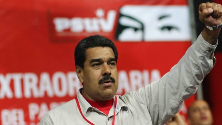 Von Kubas Fidel Castro gelobt: Der venezolanische Staatschef Maduro. (Archiv)
