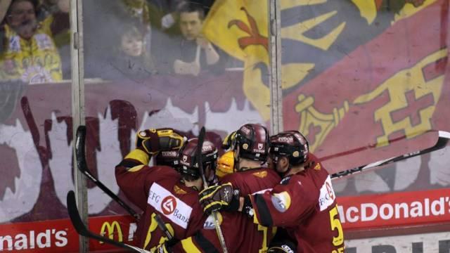 Die Genfer Eishockeyaner befinden sich weiter auf der Erfolgswelle: 4:1-Heimsieg gegen Lugano