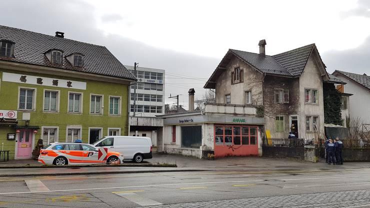 In dieses besetzte Haus in Solothurn flüchtete der Ladendieb.
