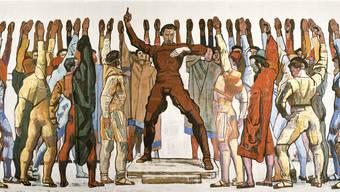 Satte zehn Meter breit: Ferdinand Hodler zeigt in «Einmütigkeit», wie er sich die Abstimmung der Hannover Bürger zur Reformation vorstellte. Kunsthaus Zürich