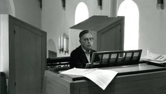 Stücke für Orgel von Theodor Diener wurden neu editiert und gespielt