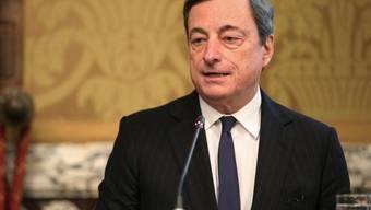 Mario Draghi findet klare Worte zur Kritik aus Deutschland (Archiv)