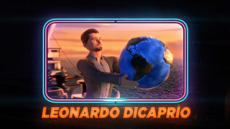 Auch Leonardo di Caprio hat einen Auftritt – und spielt sich selbst