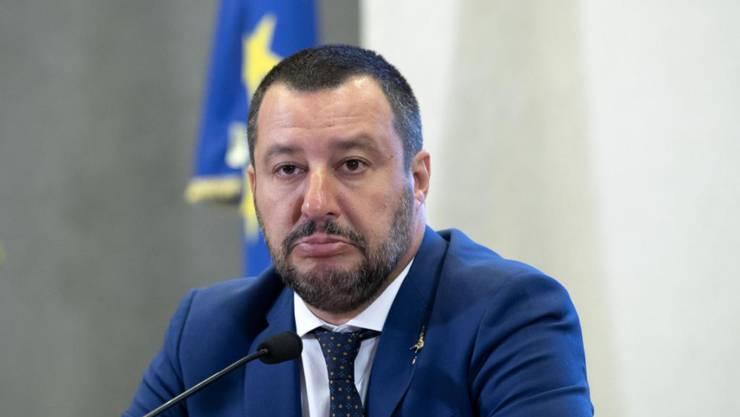 Innenminister Salvini.