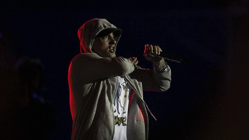 Secret Service befragte Eminem
