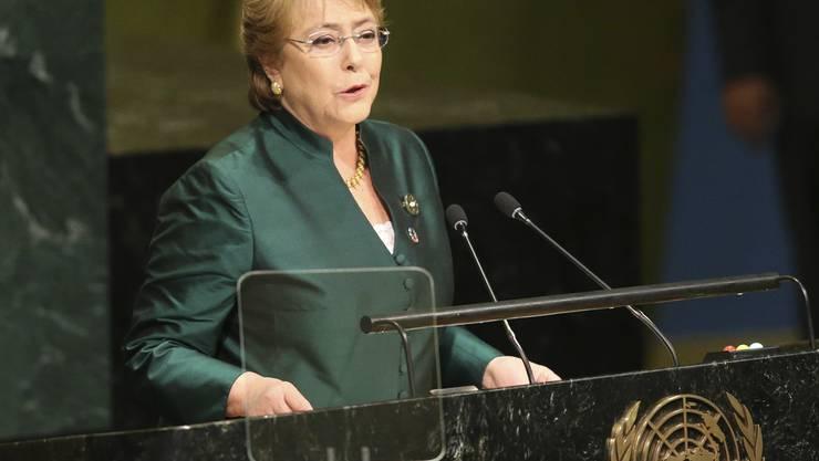 Michelle Bachelet ist am Freitag zur Menschenrechtskommissarin der Vereinten Nationen gewählt worden. (Archivbild)