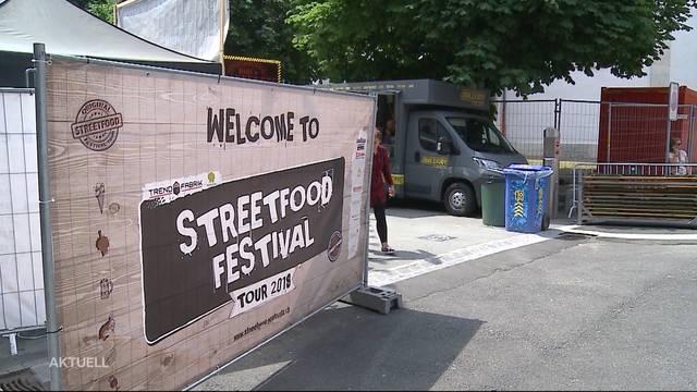 Streetfood-Festival in Olten boomt