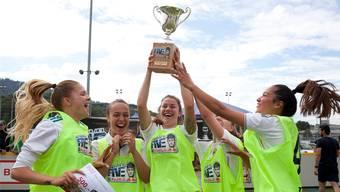 Das Team «Shoerlys» hat den Schweizer Final des Neymar-Turniers gewonnen.