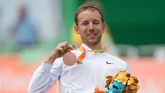 Tobias Fankhauser bei den Paralympics in Rio.