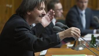 Paul Rechsteiner eröffnet die Legislatur