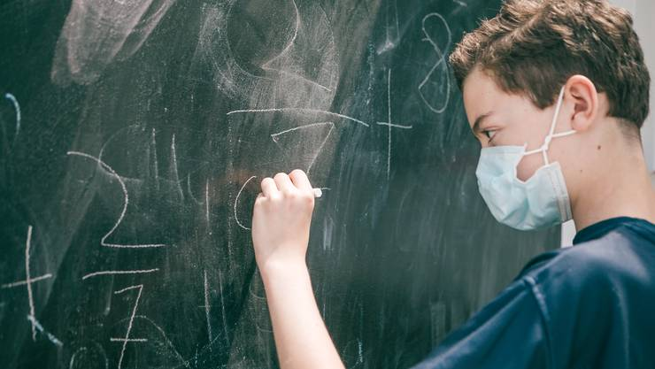 Maskenpflicht: Gilt neu auch an Berner Schulen. (Symbolbild)