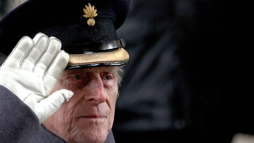 ARCHIV - Der Herzog von Edinburgh, Prinz Philip, ist im Alter von 99 Jahren gestorben. Das teilte der Buckingham-Palast am 09.04.2021 in London mit. Foto: Steve Parsons/PA Wire/dpa